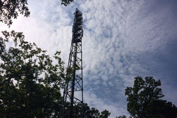 Le pylône de téléphonie mobile de Goerlingen