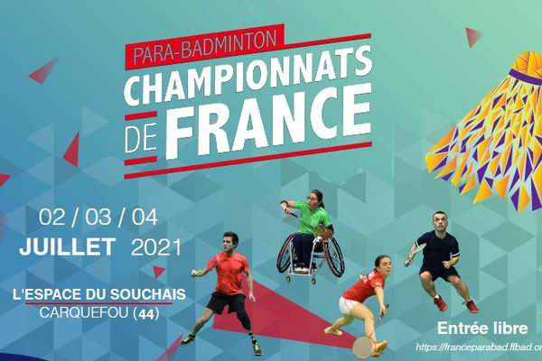 87 compétiteurs sont inscrits pour ces championnats de France de para-badminton.