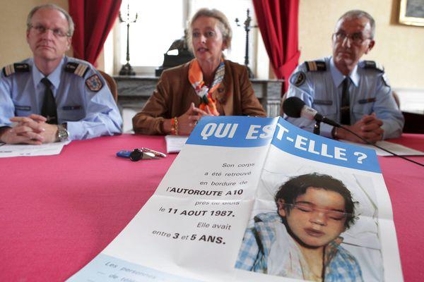 Un nouvel appel à témoin avait été lancé en 2012 pour tenter d'identifier la fillette.