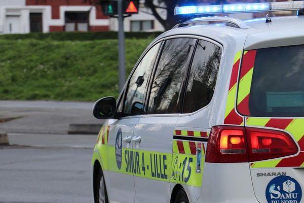 Les 4 victimes ont été transportées aux centres hospitaliers de Lille et d'Armentières.