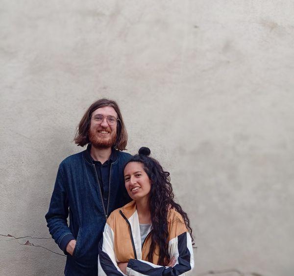 Luc et Maria ont travaillé un an en cabinet d'architecture avant de lancer Disto Studio.