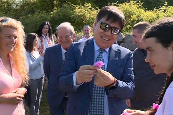 L'ambassadeur de l'UNESCO en visite à Grasse.