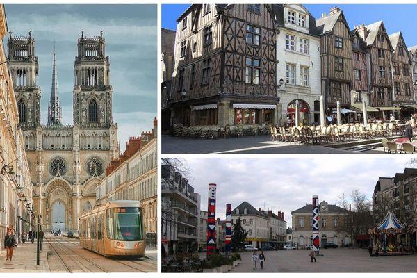 Orléans, Châteauroux et Tours font partie des 50 villes de France où il fait bon vivre