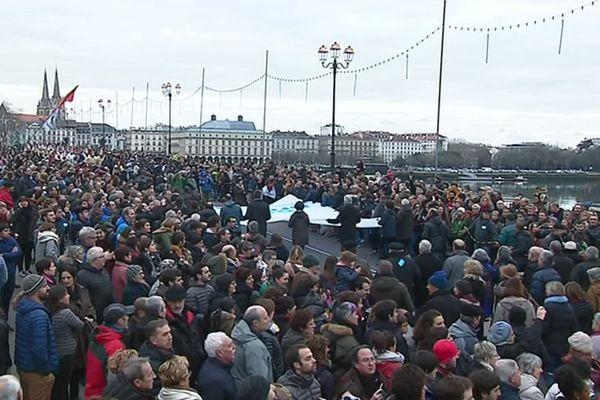 Le 12 janvier 2019, 10 000 personnes étaient descendues dans les rues de Bayonne pour demander le rapprochement des prisonniers basques.