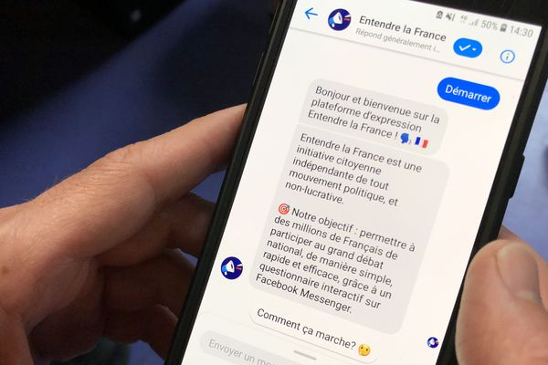 L'application Entendre la France permet d'attirer un population jeune au Grand Débat National.