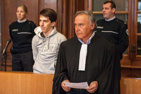 Yacine Sid, meurtrier présumé du lycéen Pierre Nasica