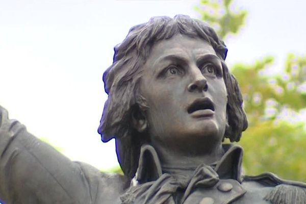 La statue de Rouget de Lisle à Lons-le-Saunier sa ville natale