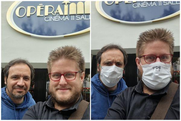 """Arnaud Klein a pu rencontrer son idole, le réalisateur (et acteur principal) de """"Kaamelott"""", Alexandre Astier."""