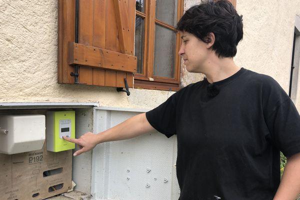 Alexandra Depraz, habitante des Bouchoux dans le Jura
