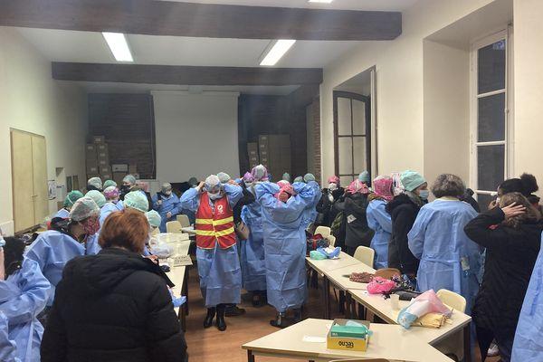 Les salariés des blocs opératoires ont décidé d'occuper le bureau de la direction du CHU ce lundi matin.