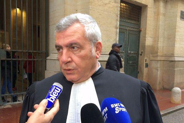Thierry Herzog - avocat de la FDJ - 2016.
