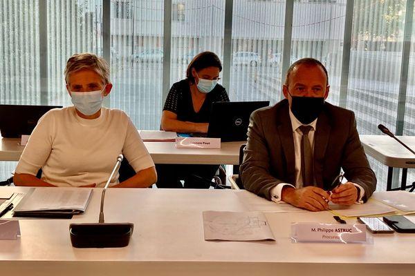 Le procureur de la République de Rennes, Philippe Astruc (à droite) invité au conseil municipal de Saint-Jacques-de-la-Lande pour parler du point de deal qui mine un quartier de la ville