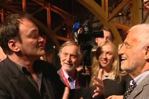 """.... Deux """"Monstres"""" du cinéma à la soirée d'ouverture du 5e Festival Lumière (Lyon - 14/10/13)"""