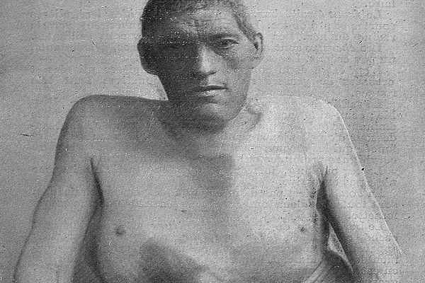 """Jean-Pierre Mazas, héros du livre de Pascal Dessaint """"Un colosse""""."""