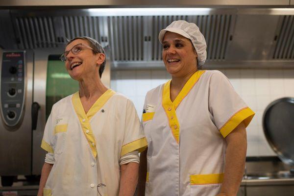 Les cuisinières de l'Ehpad d'Aubignan, avec qui l'entreprise Les Jardins de Solene collabore avec succès