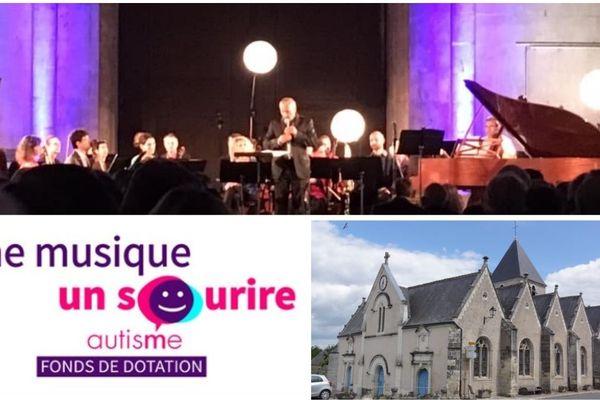 Une série de concerts est organisée pour récolter des fonds en vue de la construction d'une école à Mosnes qui accueillera des enfants autistes.