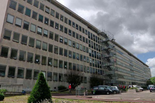6 juillet 2020 – Travaux à la cité administrative de Rouen