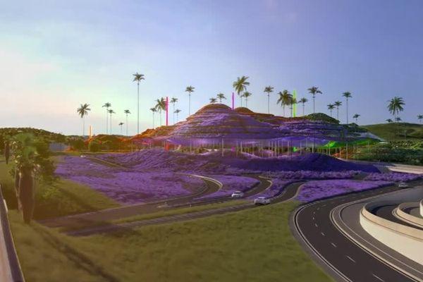 Ce projet qui devrait être livré en 2022, a été présenté à Cannes dans le cadre du MIPIM.