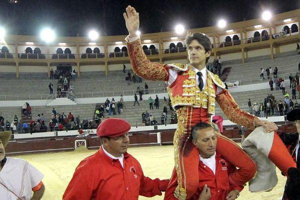 Une moitié d'arène seulement dimanche à Bogotá pour le triomphe de Castella