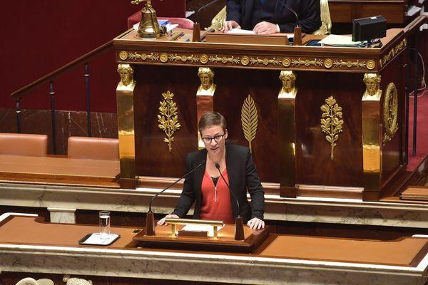 Prise de parole de Lise Magnier à l'Assemblée Nationale