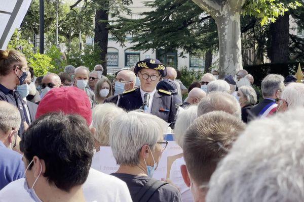 Polémique autour de la fermeture du musée de la résistance de Romans-sur-Isère : une manifestation s'est déroulée dimanche 22 août