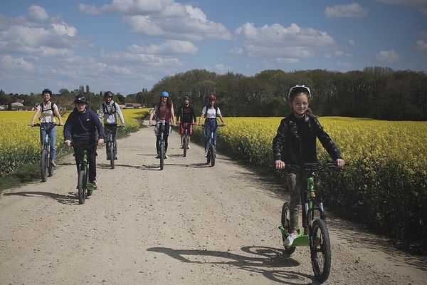 La société propose des promenades dans le Poitou.