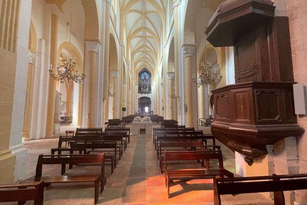 La prieurale de Souvigny, sanctuaire de la paix, est le plus grand édifice religieux de l'Allier