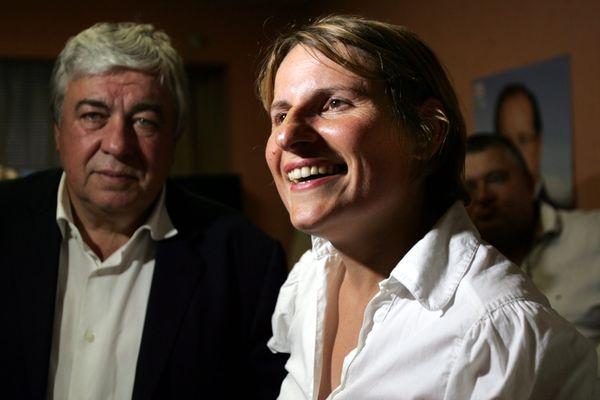 Roland Garrigues et Valérie Rabault