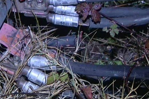 Les cables de la SNCF, très prisés des voleurs, pour leur teneur en cuivre