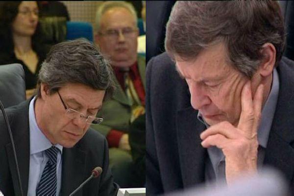 Pierre Freyburger et Joe Spiegel