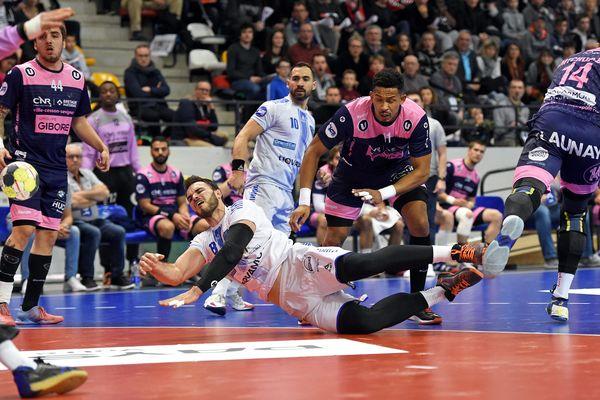 Le Cesson-Rennes Métropole Handball face au Grand Nancy Métropole Handball le 22 novembre 2019