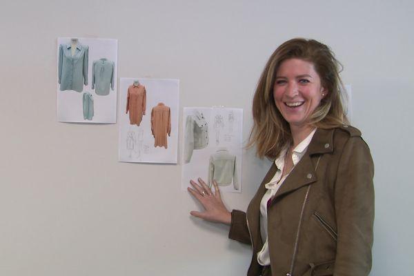 Charline Bardoux est une créatrice de mode  éco-responsable à Saint-Aunès - 30 mars 2021