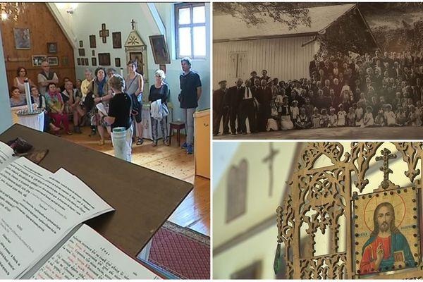 L'église orthodoxe d'Ugine a été construite au XXe siècle, quand la communauté russe s'est implantée en Savoie.