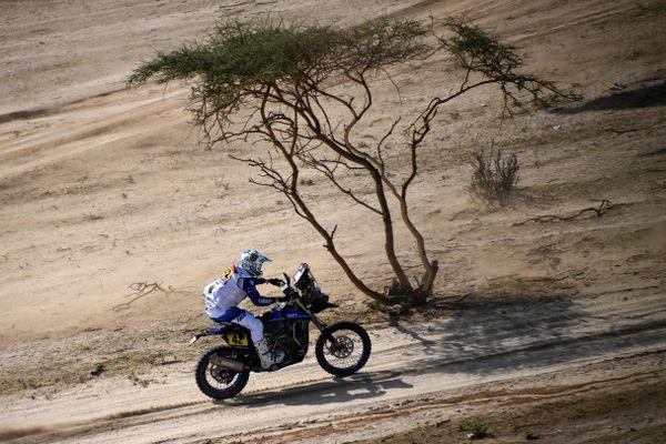 Adrien Van Beveren a fait une mauvaise opération lors de cette 5ème étape du Dakar.