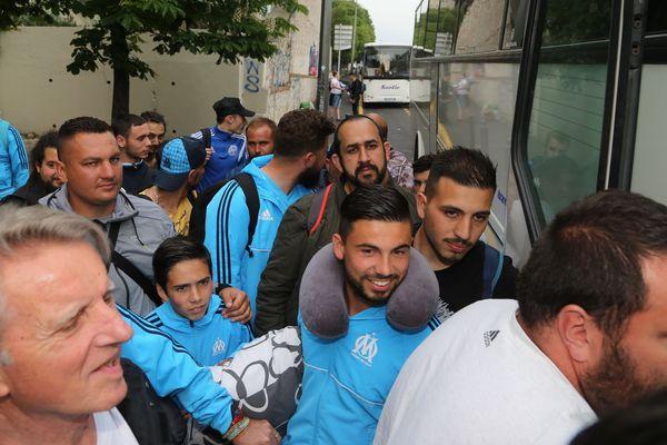 Des supporters marseillais en route pour l'Autriche
