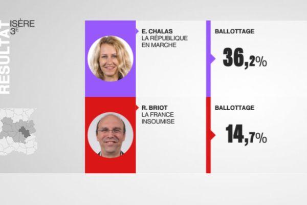 3ème circonscription de l'Isère