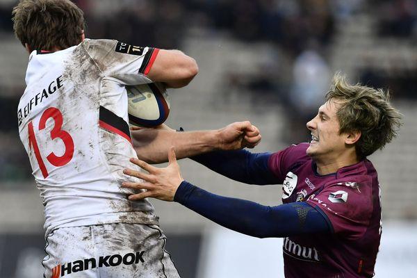 Baptiste Serin contre Lyon le 06/01/2018.