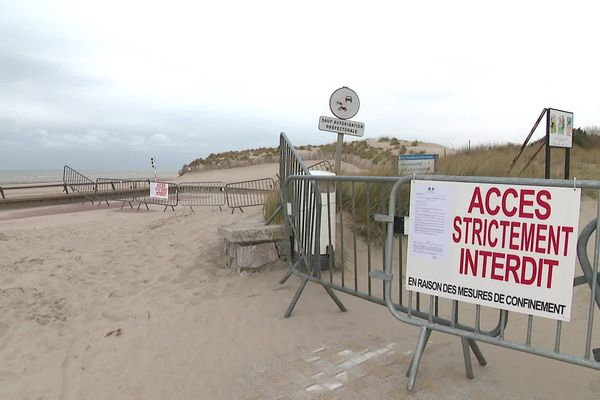 Au Touquet, l'accès à la plage est interdit depuis le début du confinement.