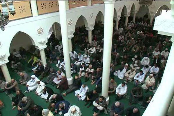La grande mosquée de Clermont-Ferrand avant le confinement