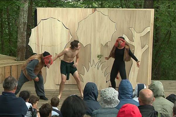 Le festival de Théâtre du Roi de coeur se déroule jusqu'au 6 août à Maurens.