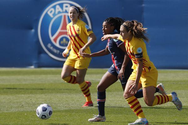 Le PSG et Barcelone se sont tenues en échec à l'aller des demis-finales de la Ligue des Champions féminine