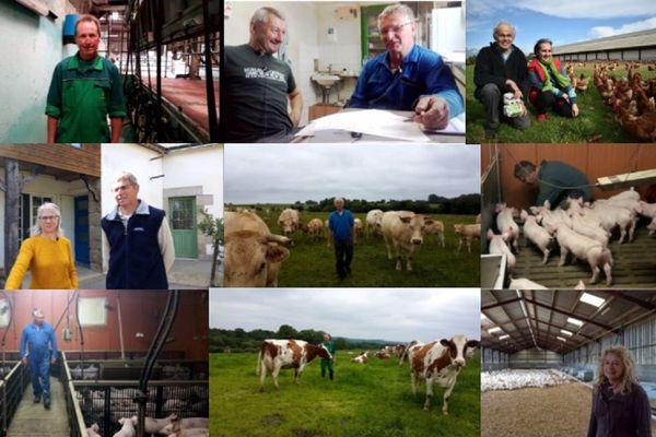 Ils sont éleveurs de porcs, volailles, vaches laitières, allaitantes, œufs... en centre Bretagne et souhaitent que des jeunes puissent prendre la relève