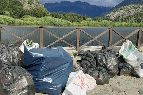 Collecte de déchets au Chili