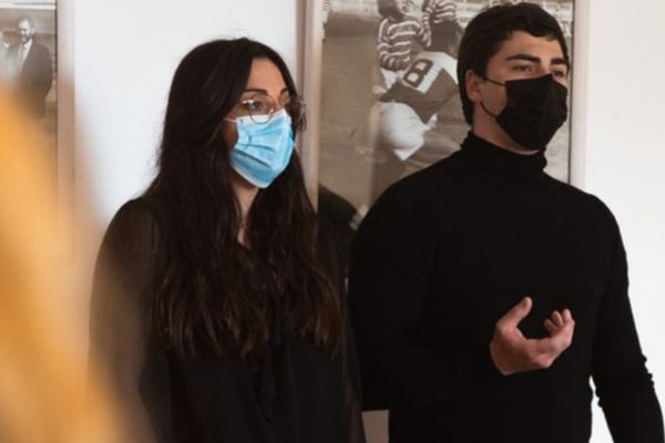 Aurélie Fico et Enzo Martel, membres fondateurs du mouvement Tutti Furianinchi.