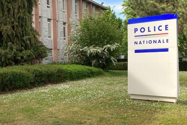 Le commissariat central à Rennes