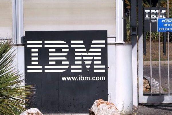 IBM à Montpellier - archives