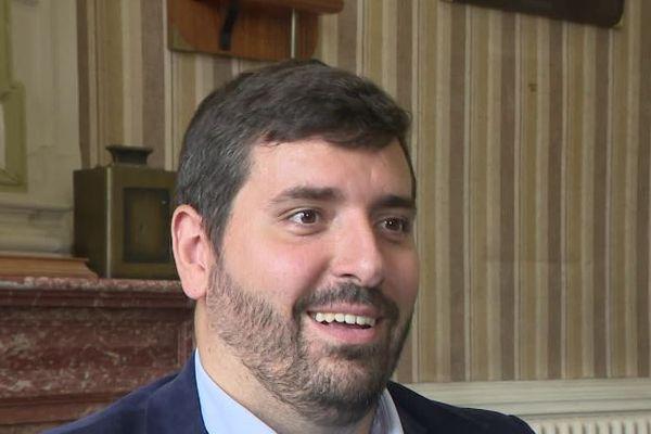 Florent Fatin, maire centriste sortant à Pauillac, en Gironde.