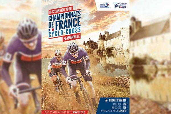 Les championnats de France de cyclo-cross se déroulent les 11 et 12 janvier 2020 au château de Flamanville, dans la Manche.