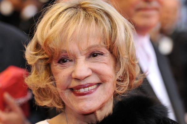Jeanne Moreau en 2008