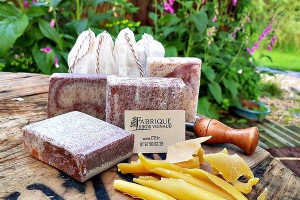 Les savons paysans de la Fabrique du Bois Vignaud à Naves